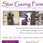 Animal Sanctuary with online fundraising capabilities.